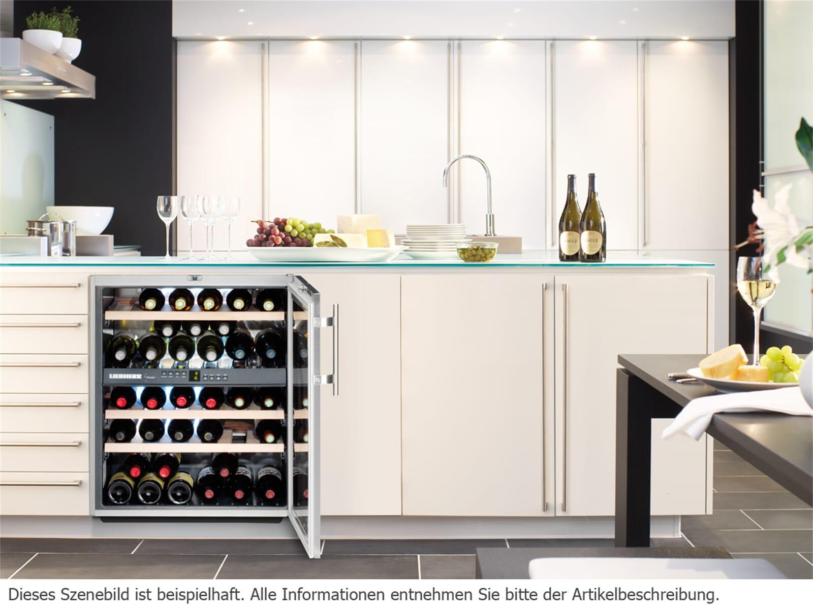 liebherr wtues1653 vinidor unterbau weink hlschrank f r 1743 90 eur. Black Bedroom Furniture Sets. Home Design Ideas