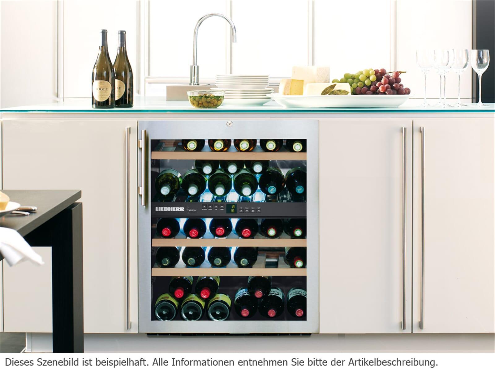 liebherr wtues1653 vinidor unterbau weink hlschrank f r. Black Bedroom Furniture Sets. Home Design Ideas
