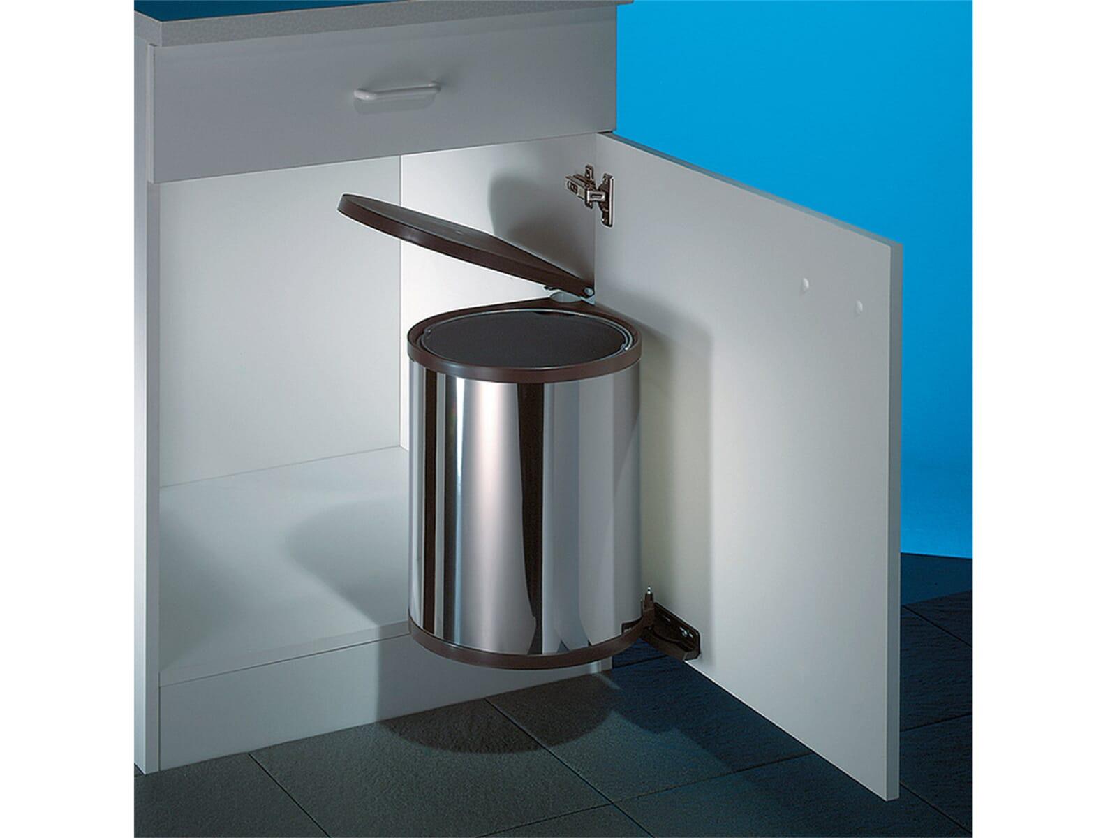 naber rondo 2 edelstahl einbau abfallsammler f r 38 90 eur. Black Bedroom Furniture Sets. Home Design Ideas