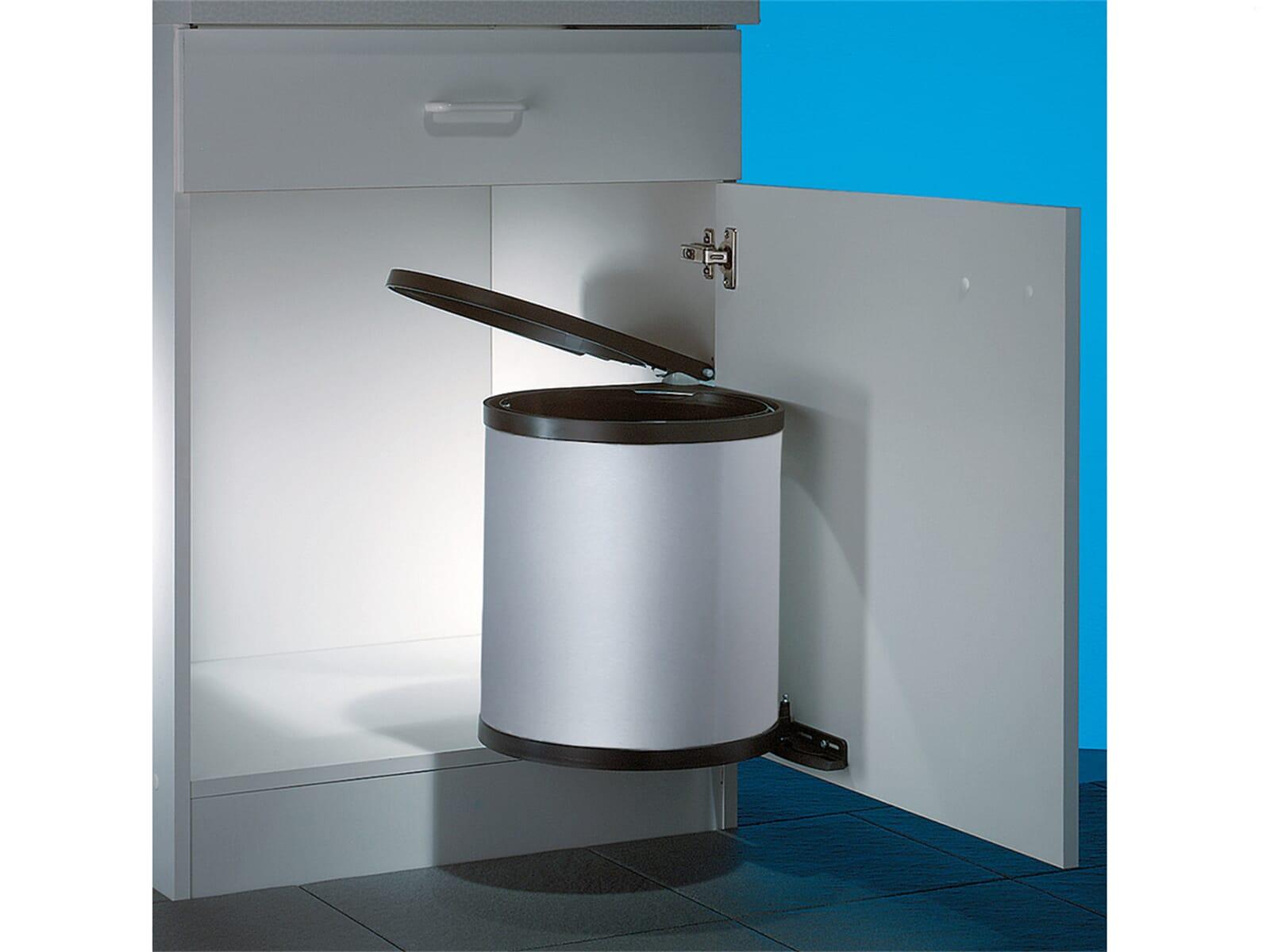 naber rondo 3 silber einbau abfallsammler f r 34 90 eur. Black Bedroom Furniture Sets. Home Design Ideas