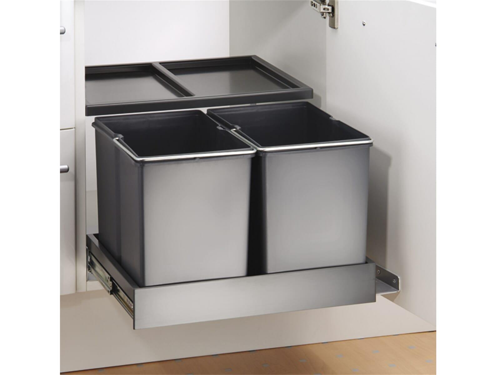 naber double shorty plus einbau abfallsammler f r 124 90. Black Bedroom Furniture Sets. Home Design Ideas
