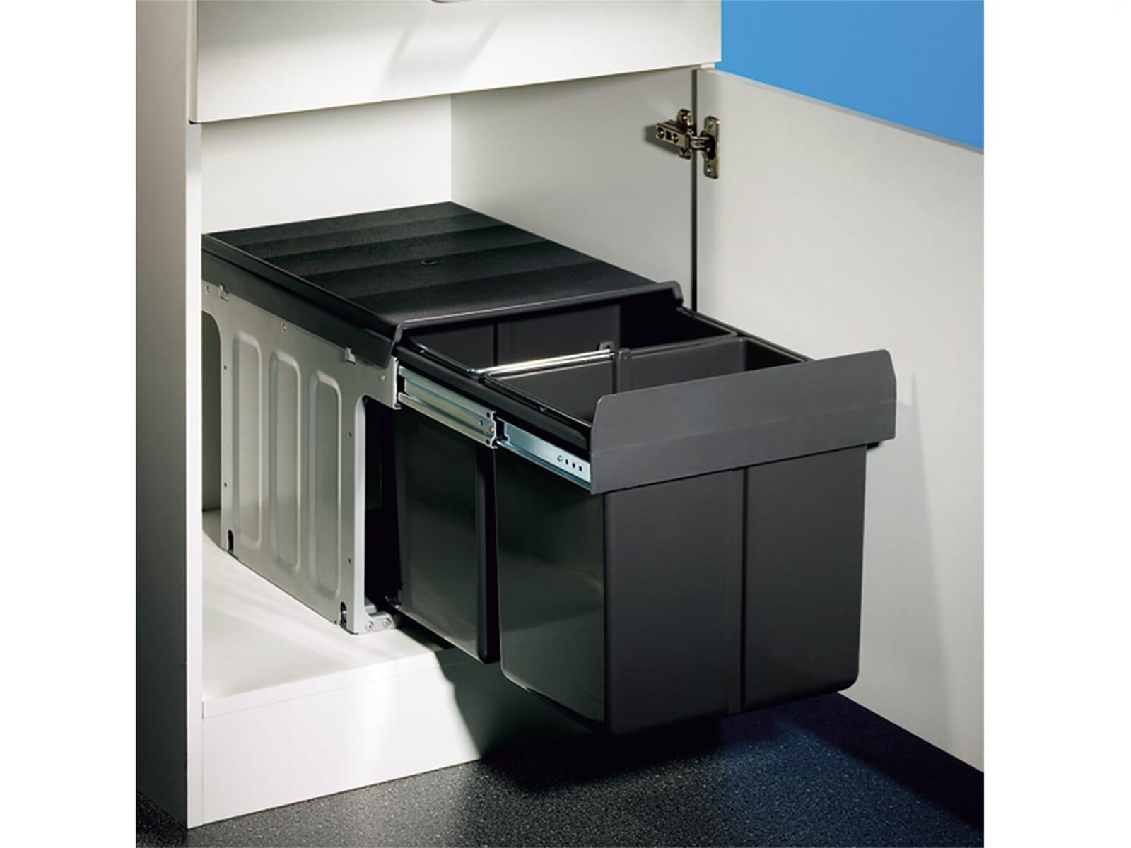 naber double master einbau abfallsammler f r 84 90 eur. Black Bedroom Furniture Sets. Home Design Ideas