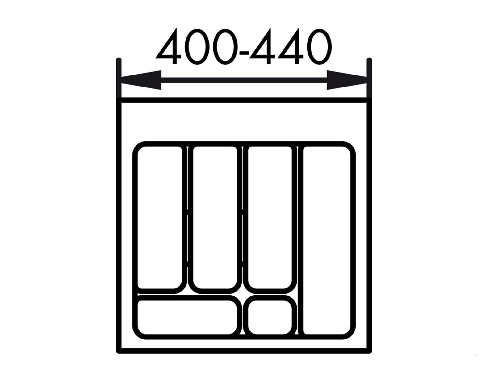 naber 803 besteckeinsatz 2 50er breite f r 17 90 eur. Black Bedroom Furniture Sets. Home Design Ideas