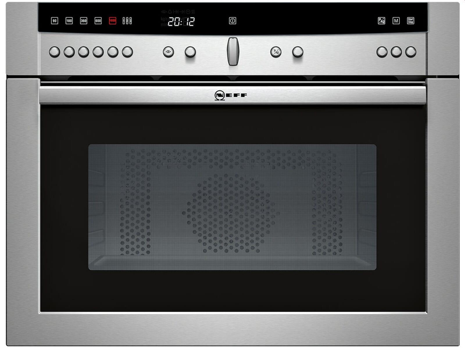 Neff CW 5740 N Kompakt Mikrowelle Edelstahl 45cm Einbau