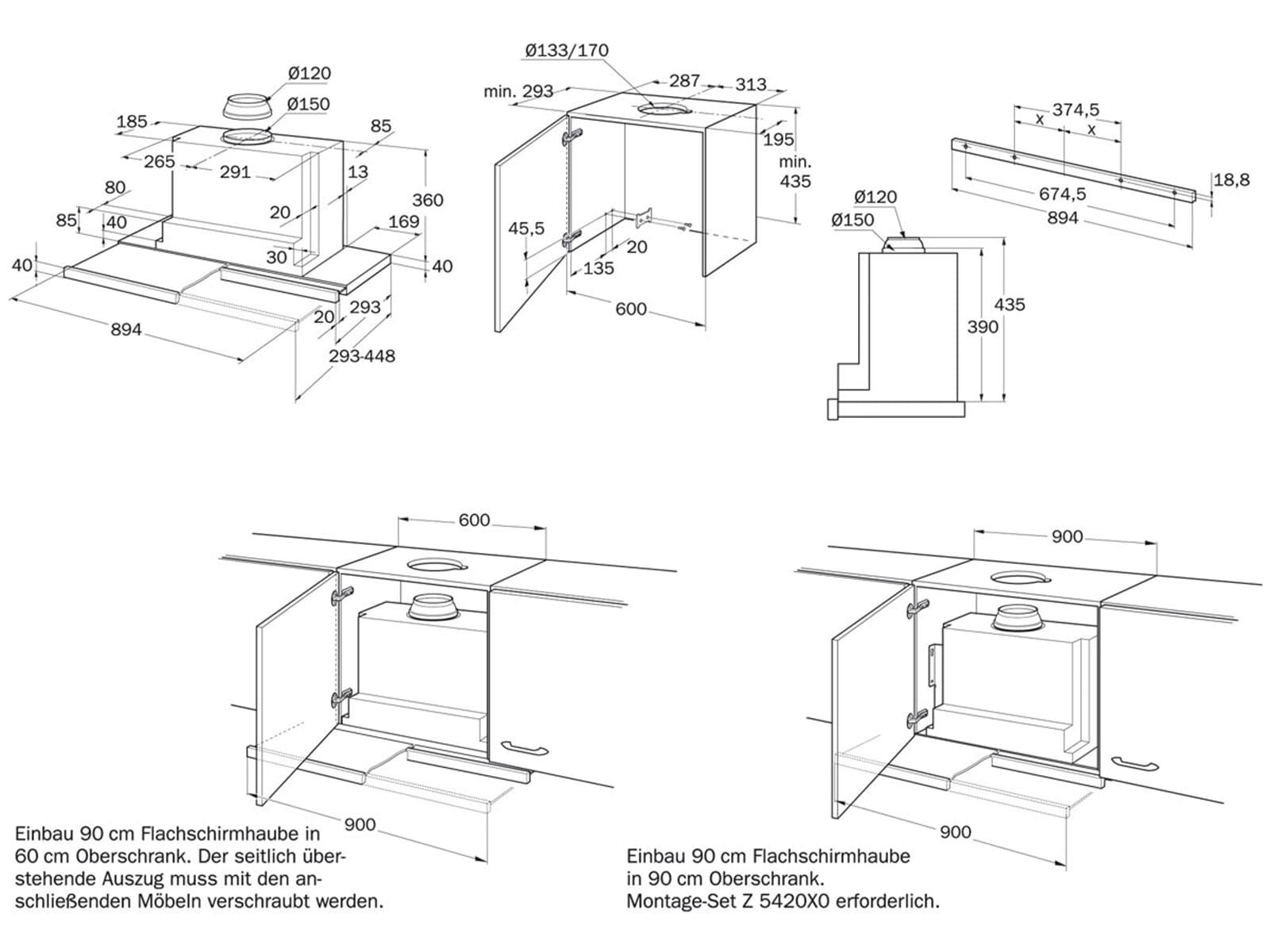 neff da 79 b flachschirm dunstabzugshaube silbermetallic f r 328 90 eur. Black Bedroom Furniture Sets. Home Design Ideas