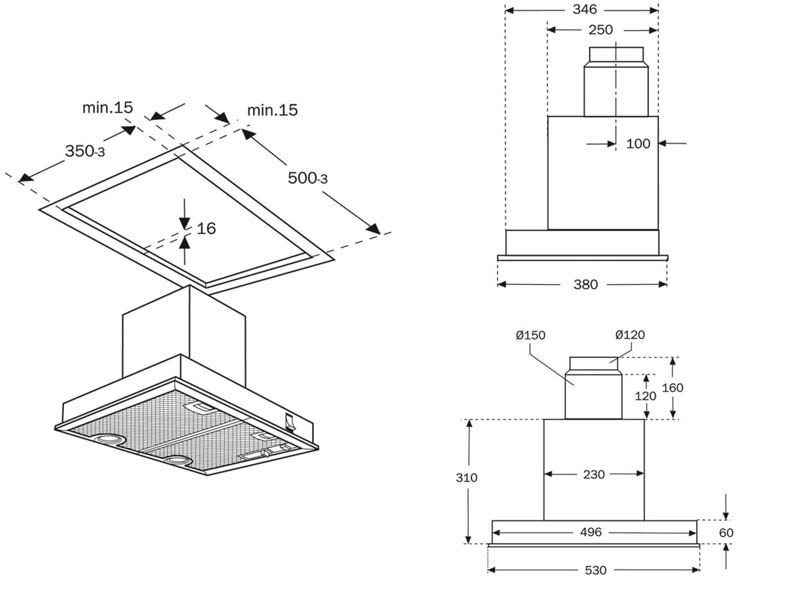 neff dbm 70 a l fterbaustein einbau dunstabzugshaube 50cm dunstesse abzug l fter. Black Bedroom Furniture Sets. Home Design Ideas