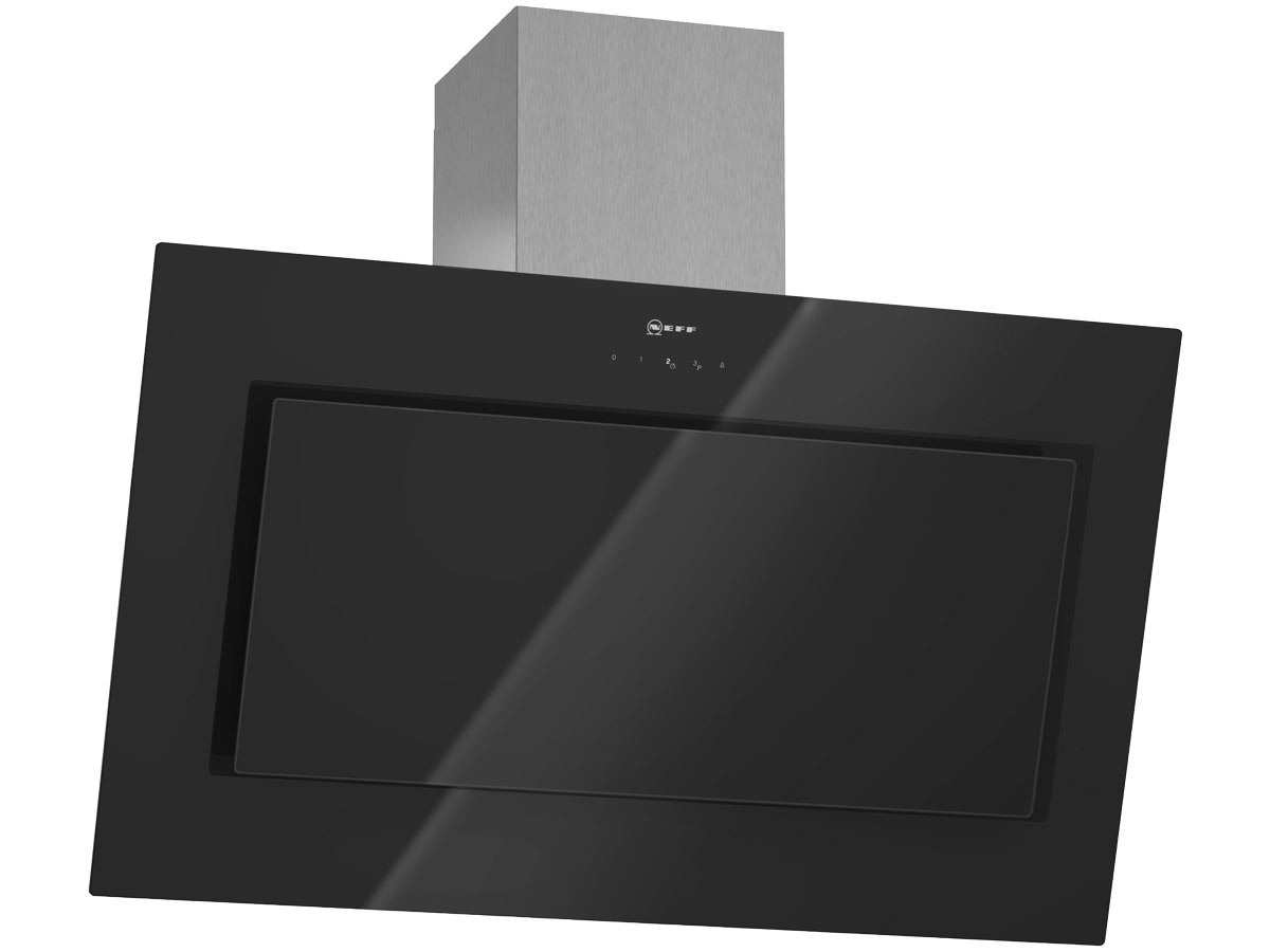 neff dse 3949 s kopffrei wand dunstabzugshaube edelstahl schwarz schr gesse 90cm ebay. Black Bedroom Furniture Sets. Home Design Ideas