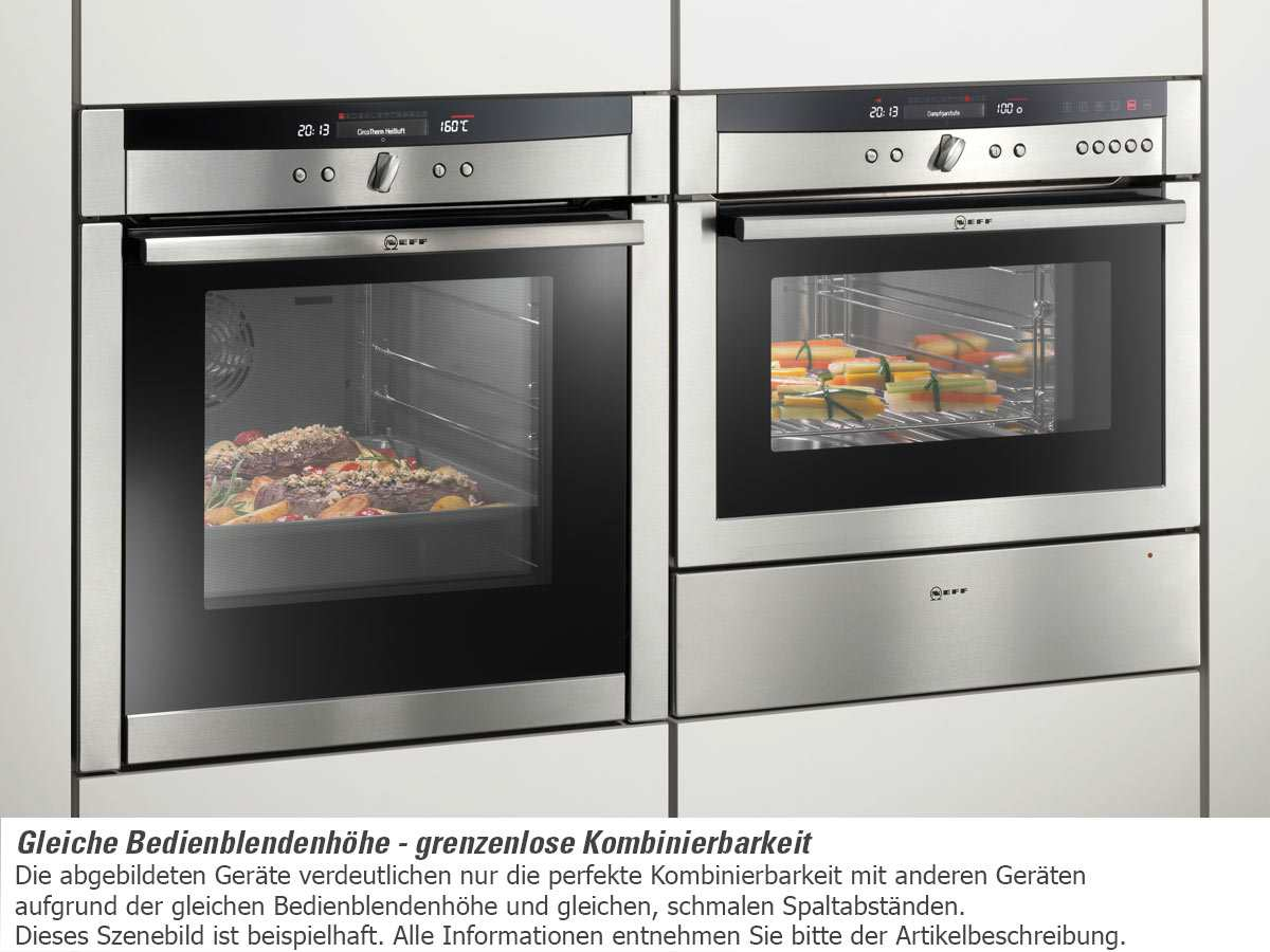 neff mega cm 6750 n kompakt backofen mit mikrowelle edelstahl ebay. Black Bedroom Furniture Sets. Home Design Ideas