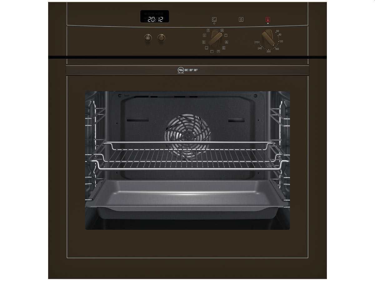 neff mega bm 1542 b eu backofen braun einbau 60cm easyclean ebay. Black Bedroom Furniture Sets. Home Design Ideas