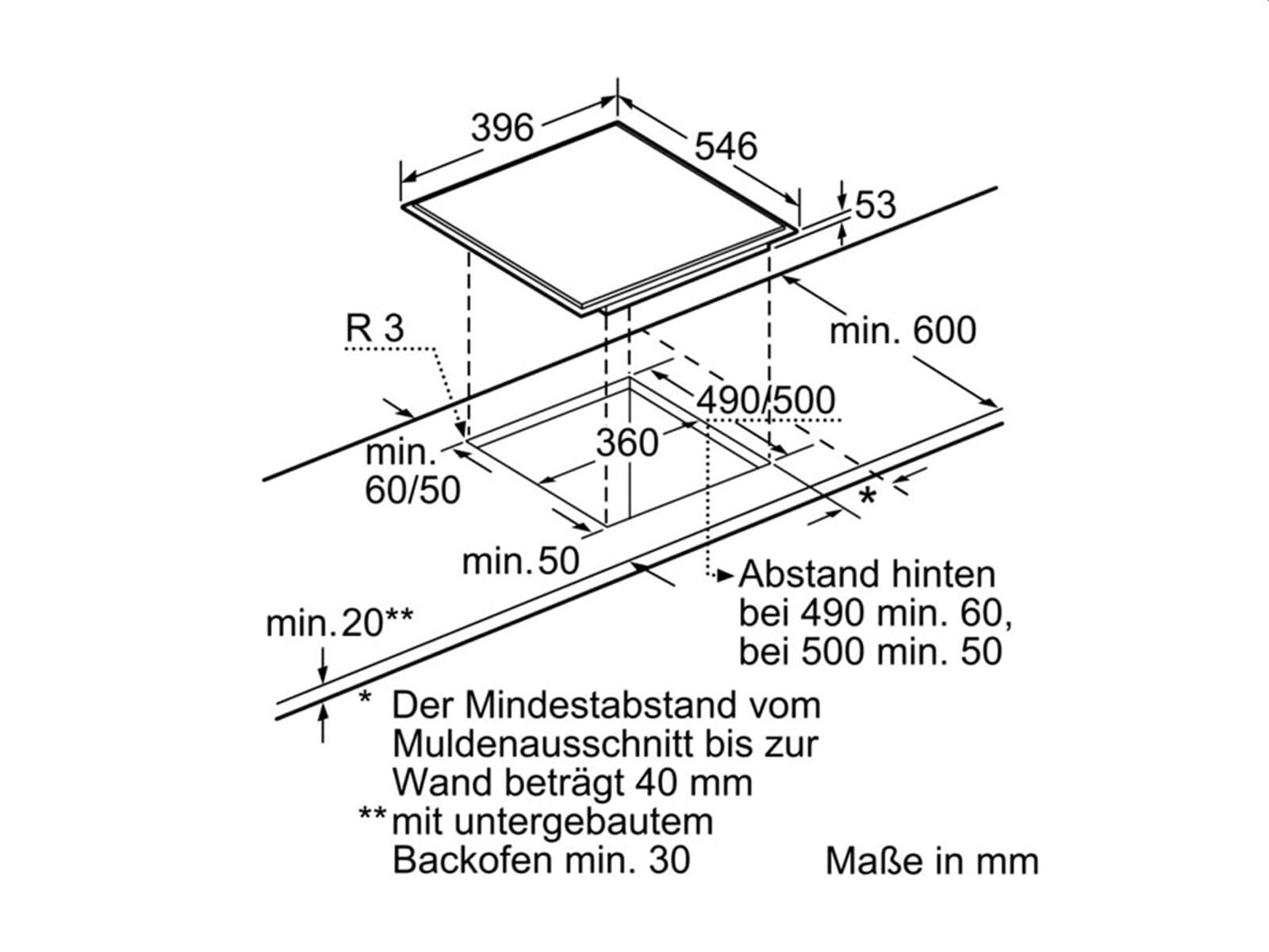 neff nk 4445 n domino induktion glaskeramik kochfeld autark f r 614 90 eur. Black Bedroom Furniture Sets. Home Design Ideas