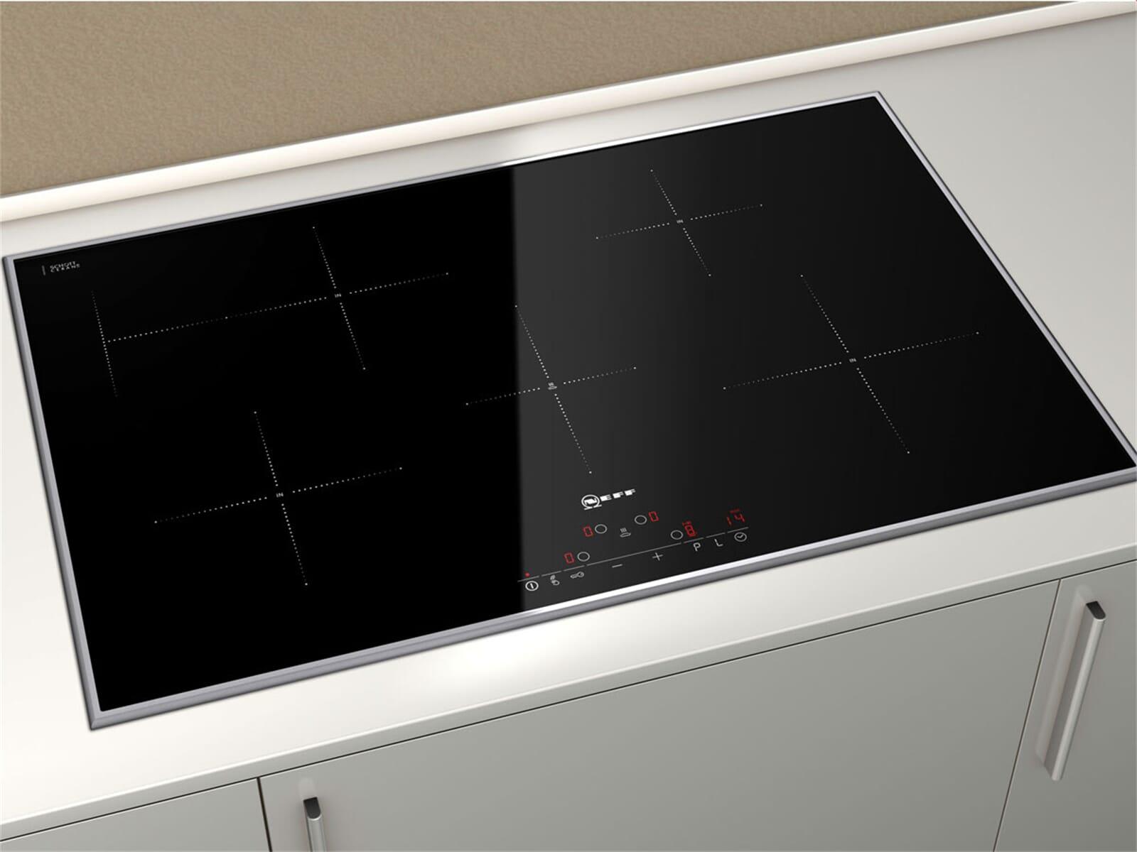 neff x80bp4 set pyrolyse backofen bp 1842 n induktion glaskeramik kochfeld td ebay. Black Bedroom Furniture Sets. Home Design Ideas