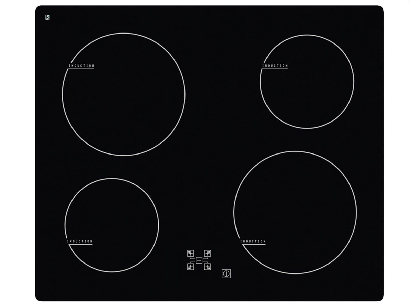 induktions kochfeld 60 cm einbau fl chenb ndig autark ebay. Black Bedroom Furniture Sets. Home Design Ideas