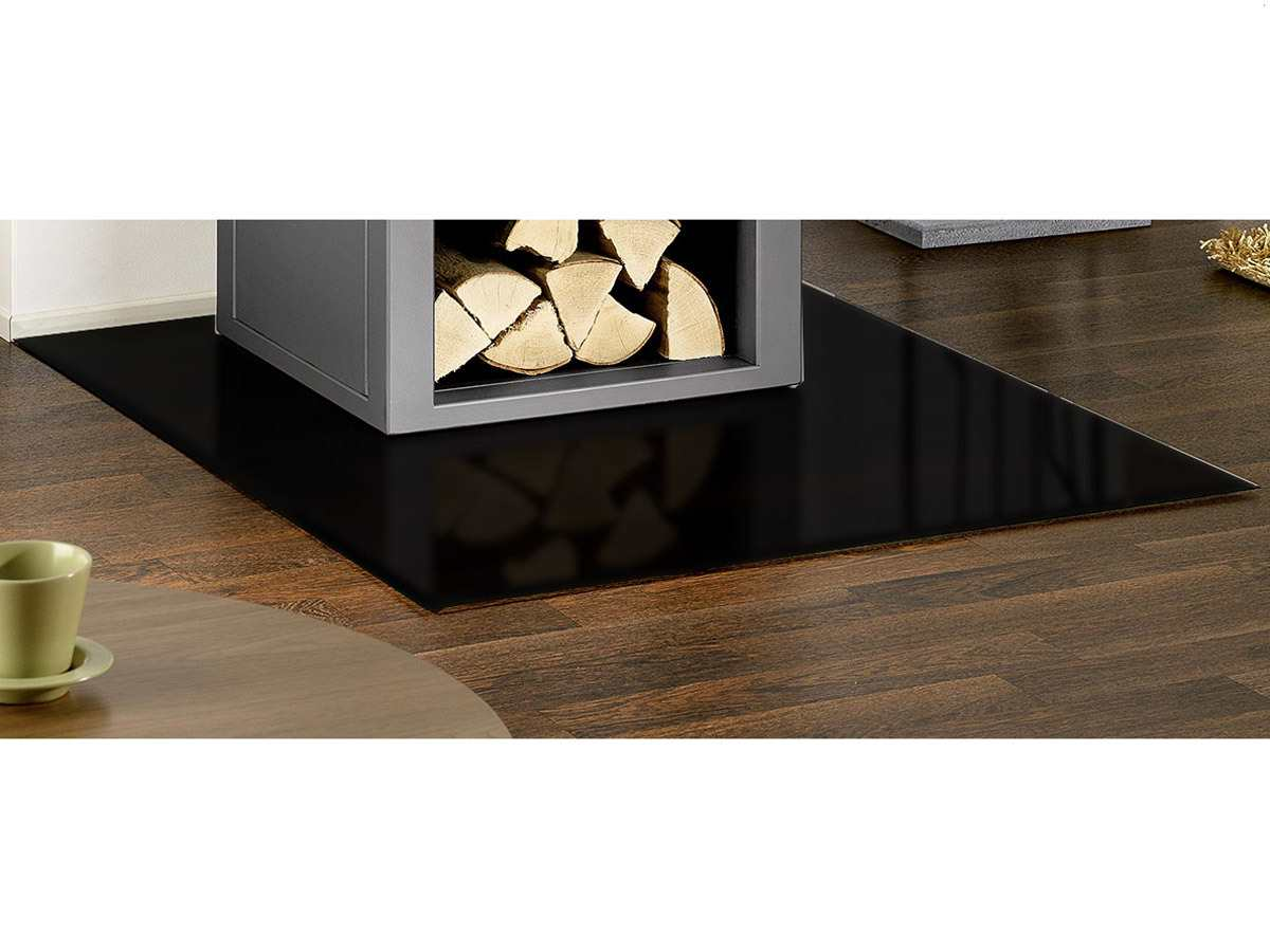 oranier bodenplatte stahl schwarz b1 rechteck 9201 50. Black Bedroom Furniture Sets. Home Design Ideas