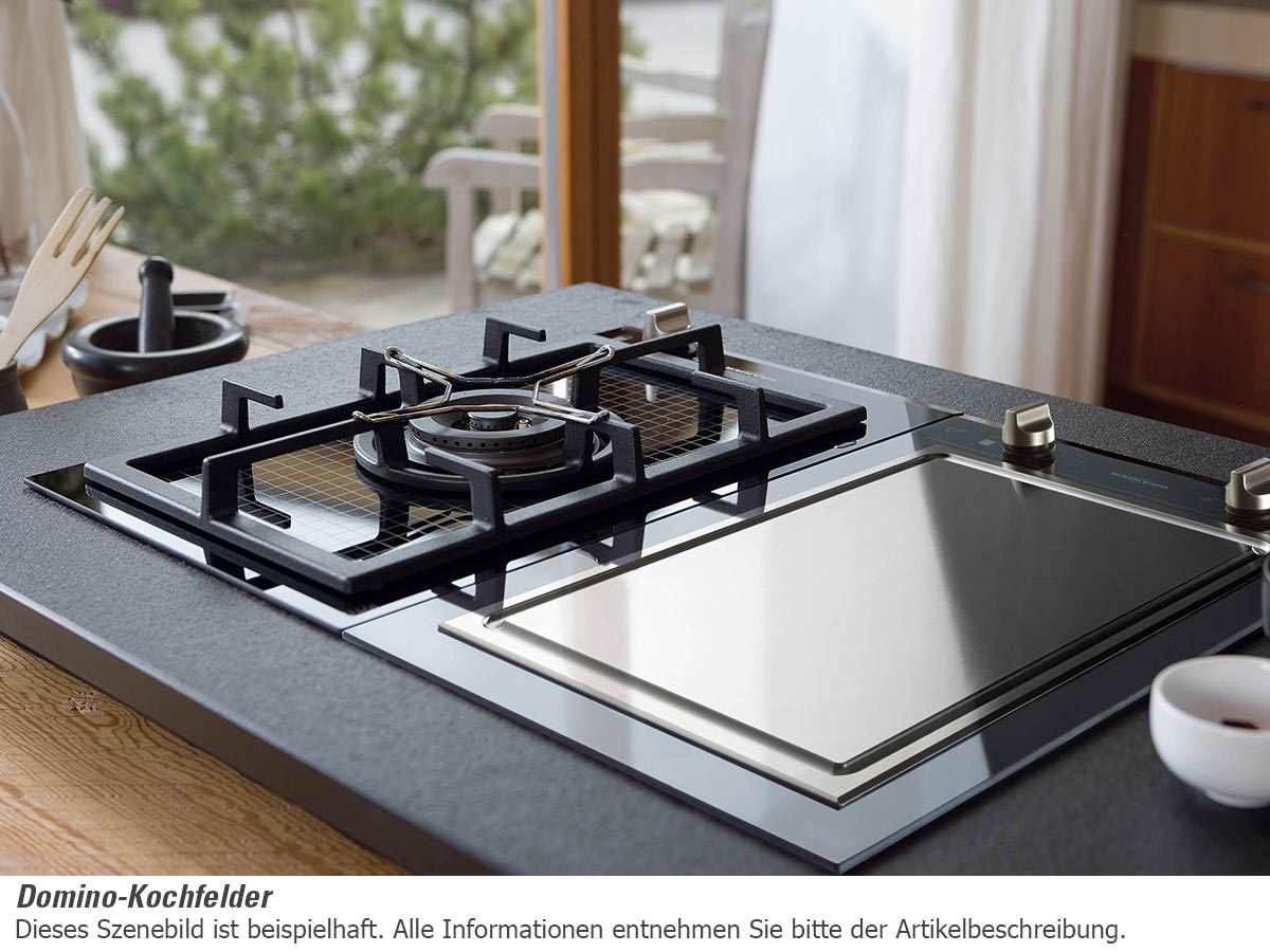 domino kochfeld teppan yaki edelstahl autark 40cm einbau. Black Bedroom Furniture Sets. Home Design Ideas