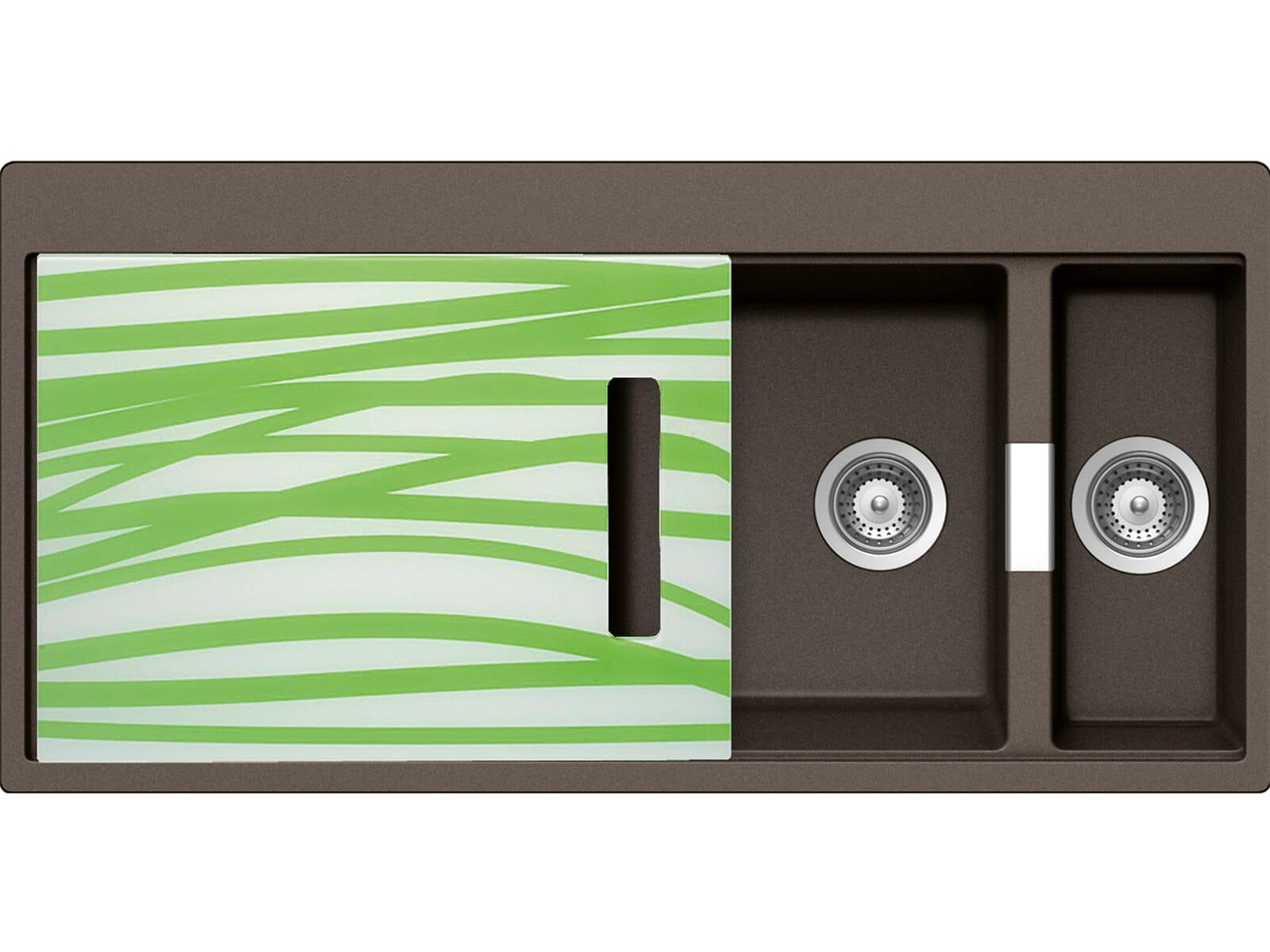 Schock Horizont D-150 A G Bronze Granit-Spüle