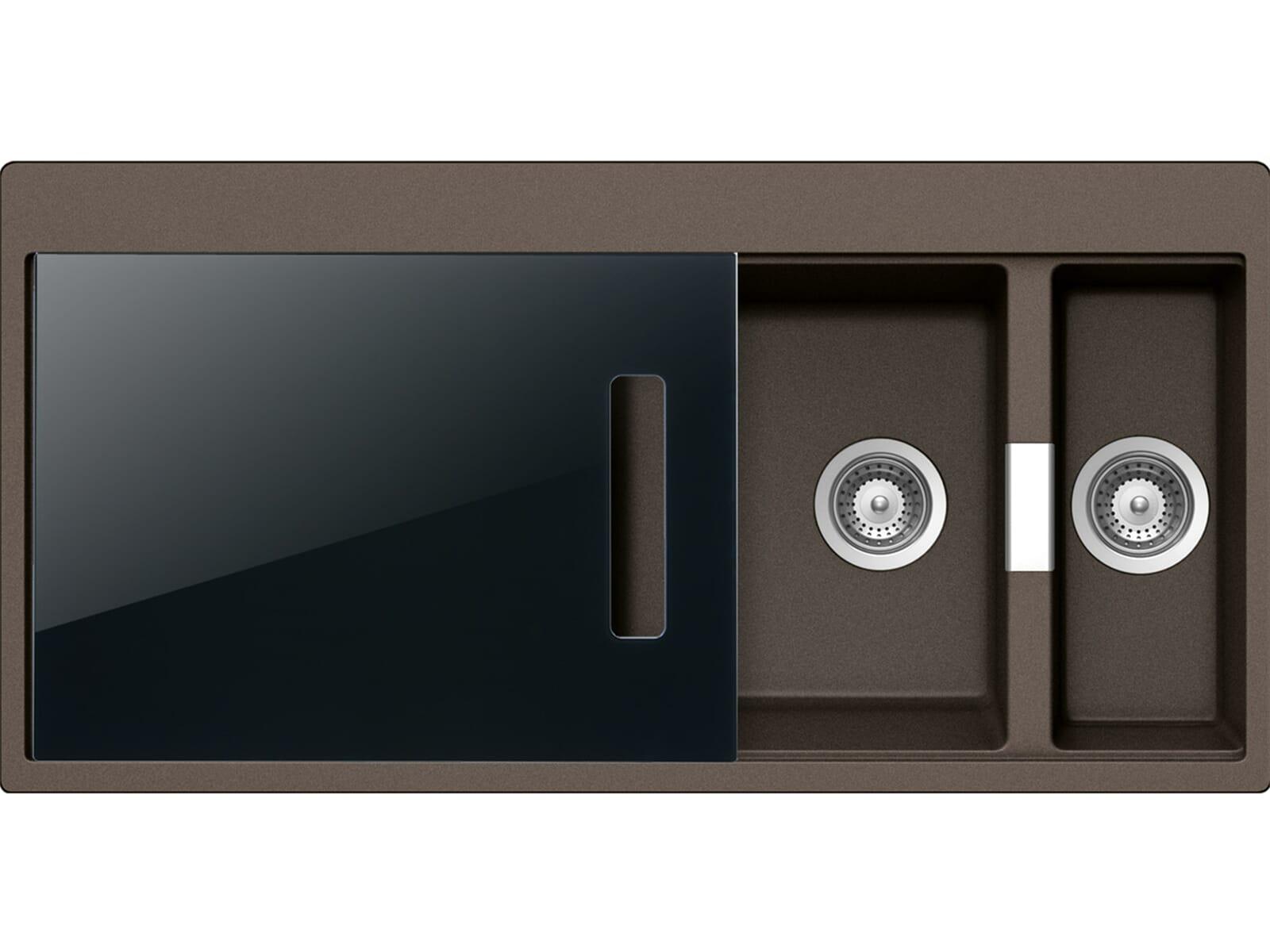 Schock Horizont D-150 A S Bronze Granit-Spüle