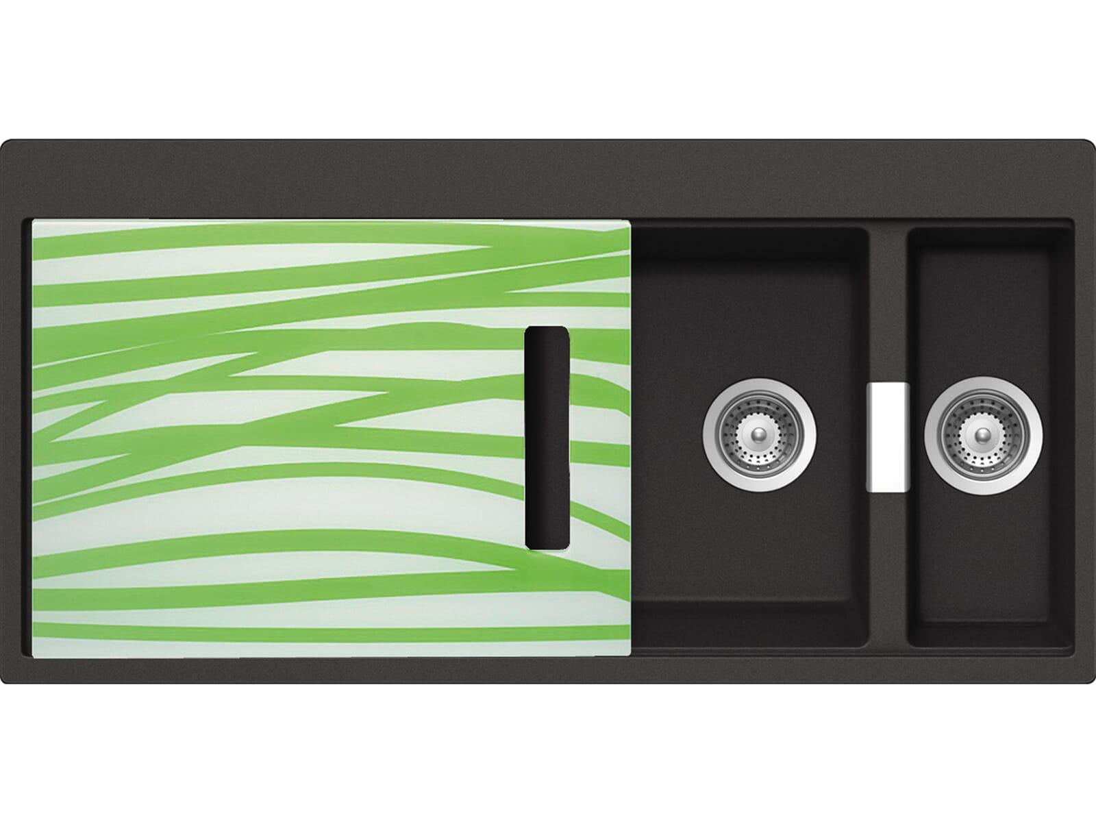Schock Horizont D-150 A G Carbonium Granit-Spüle