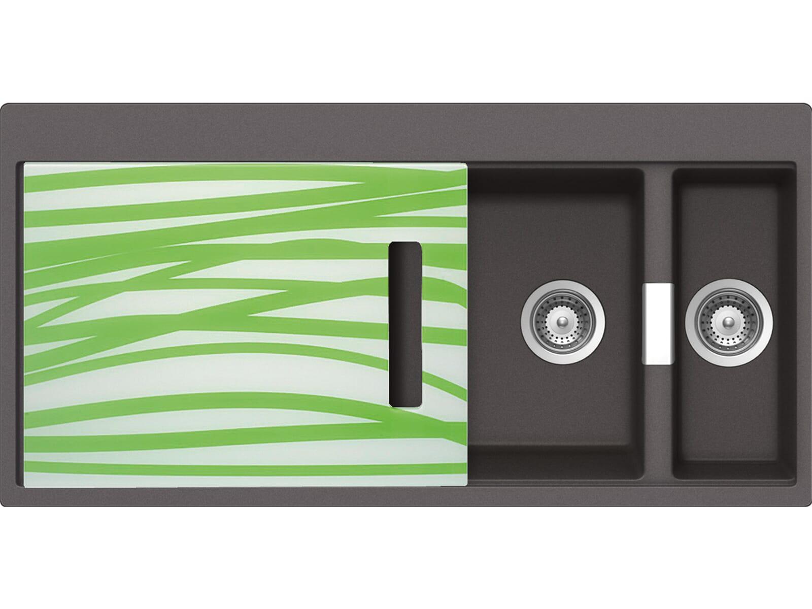 Schock Horizont D-150 A G Stone Granit-Spüle