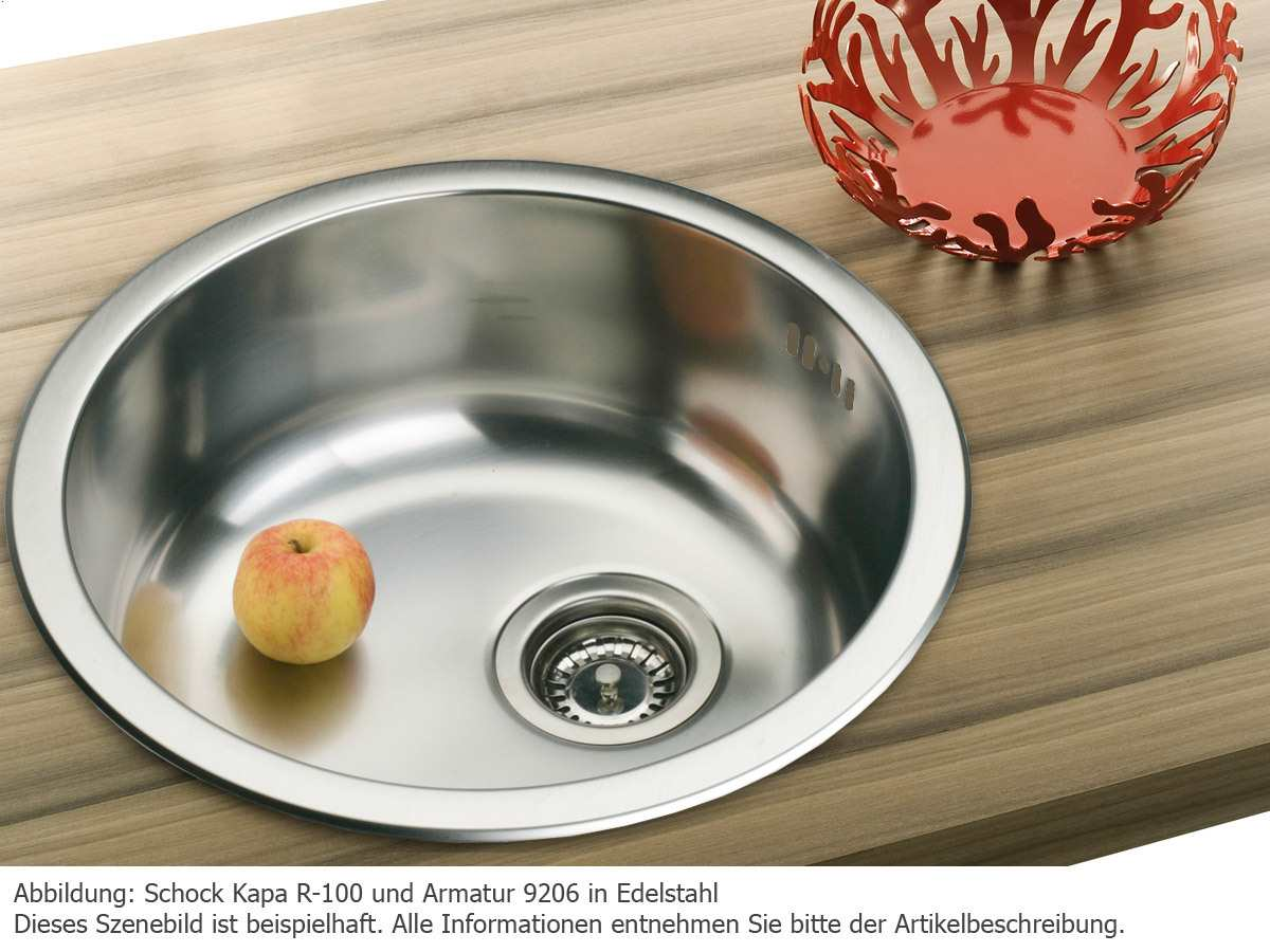 9001200 Küchenspülen Edelstahlspülen Schock Kapa R 100 Edelstahl Spüle  Bild, Beispiele, Ideen Und Design