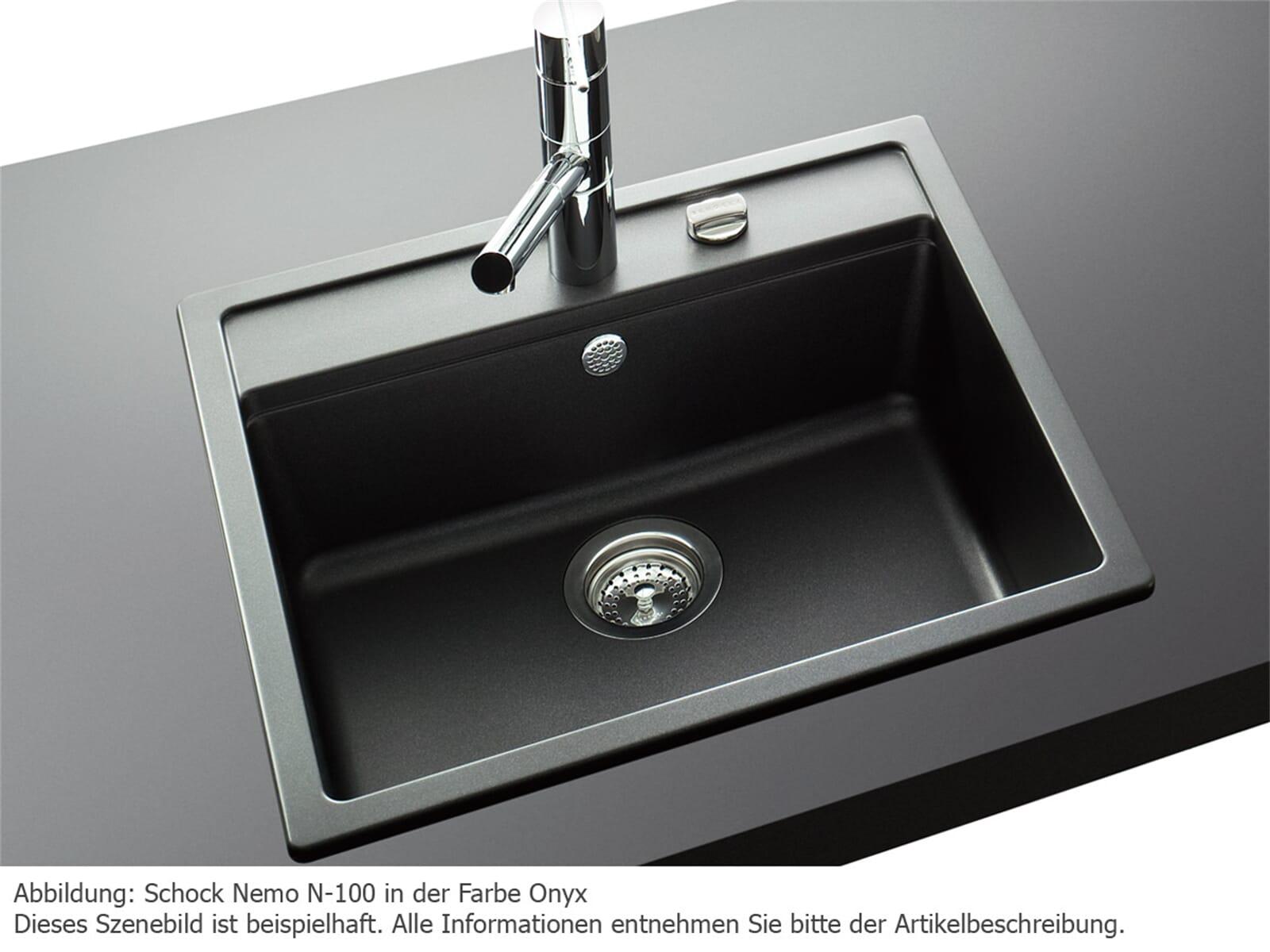 schock nemo n 100 a onyx granit sp le f r 168 80 eur. Black Bedroom Furniture Sets. Home Design Ideas