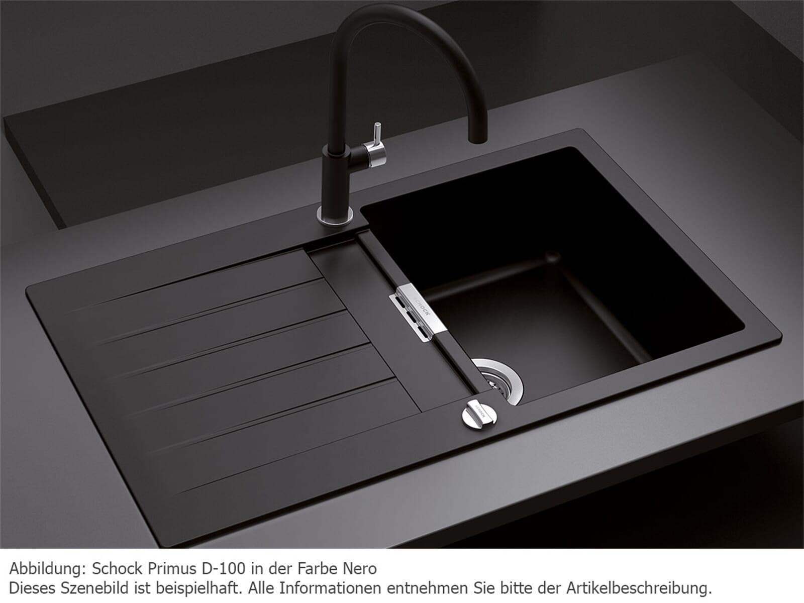schock primus d 100 a nero granit sp le f r 188 90 eur. Black Bedroom Furniture Sets. Home Design Ideas