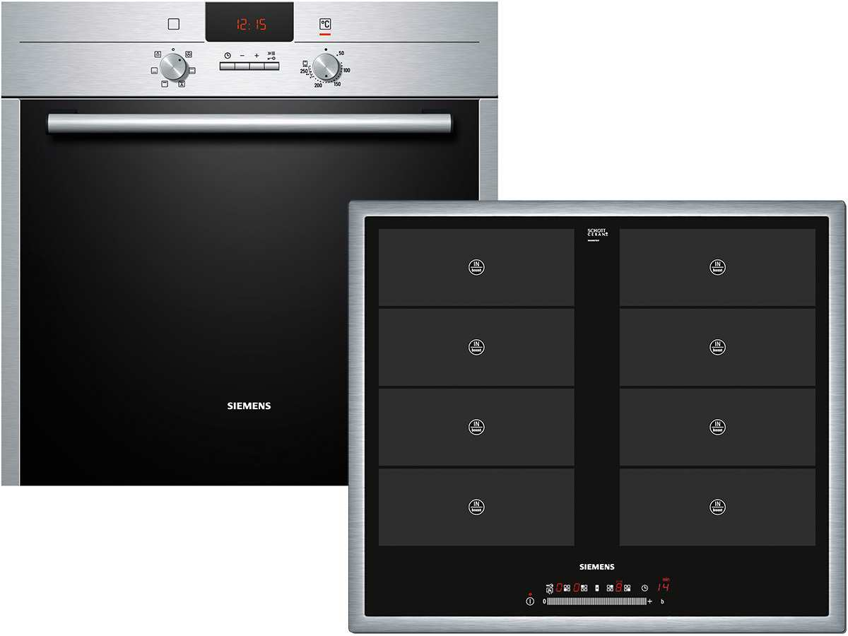siemens eq272ev1ed set backofen hb23at510 vario. Black Bedroom Furniture Sets. Home Design Ideas