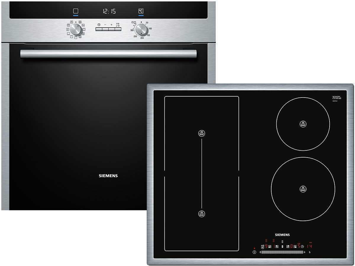 siemens eq2z038 set pyrolyse backofen hb73gu545 induktion kochfeld eh645ft17e ebay. Black Bedroom Furniture Sets. Home Design Ideas