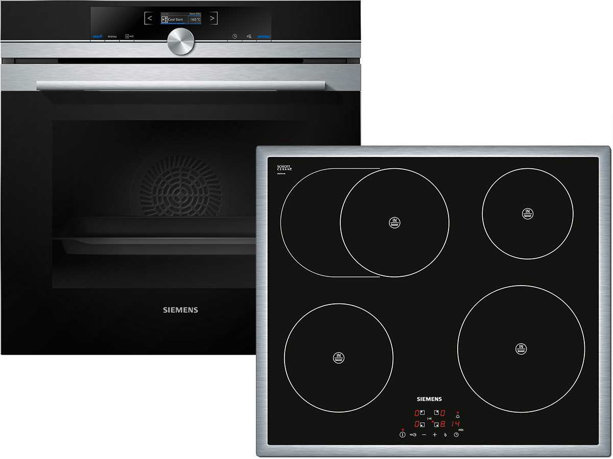 Siemens EQ2Z057 Set Pyrolyse Backofen HB673G0S1  ~ Backofen Set