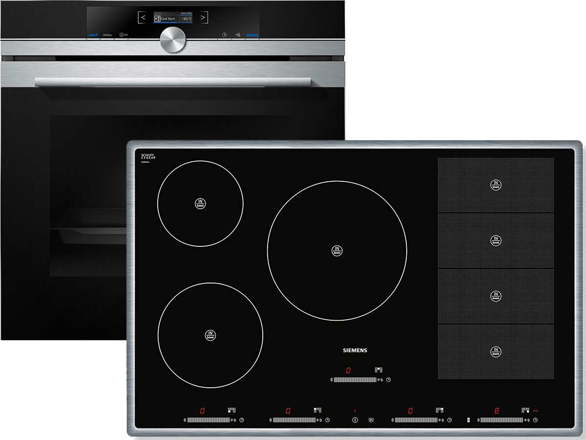 siemens eq2z064 set backofen hb633gns1 induktion glaskeramik kochfeld eh845sp1 ebay. Black Bedroom Furniture Sets. Home Design Ideas