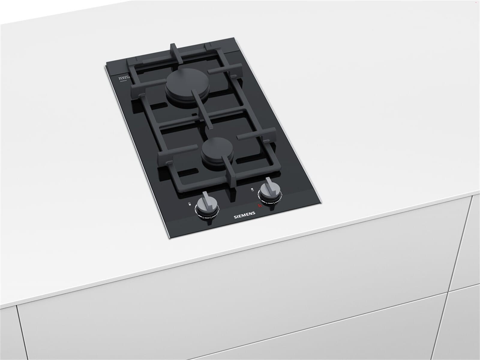 siemens er3a6bd70d domino glaskeramik gaskochfeld autark gas kochfeld gasbrenner ebay. Black Bedroom Furniture Sets. Home Design Ideas