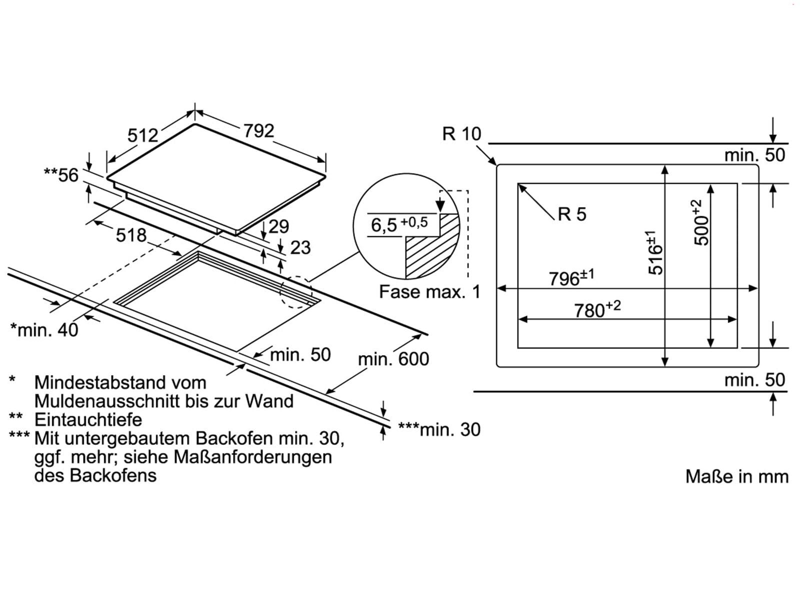 siemens ex801kye1e induktion glaskeramik kochfeld autark. Black Bedroom Furniture Sets. Home Design Ideas