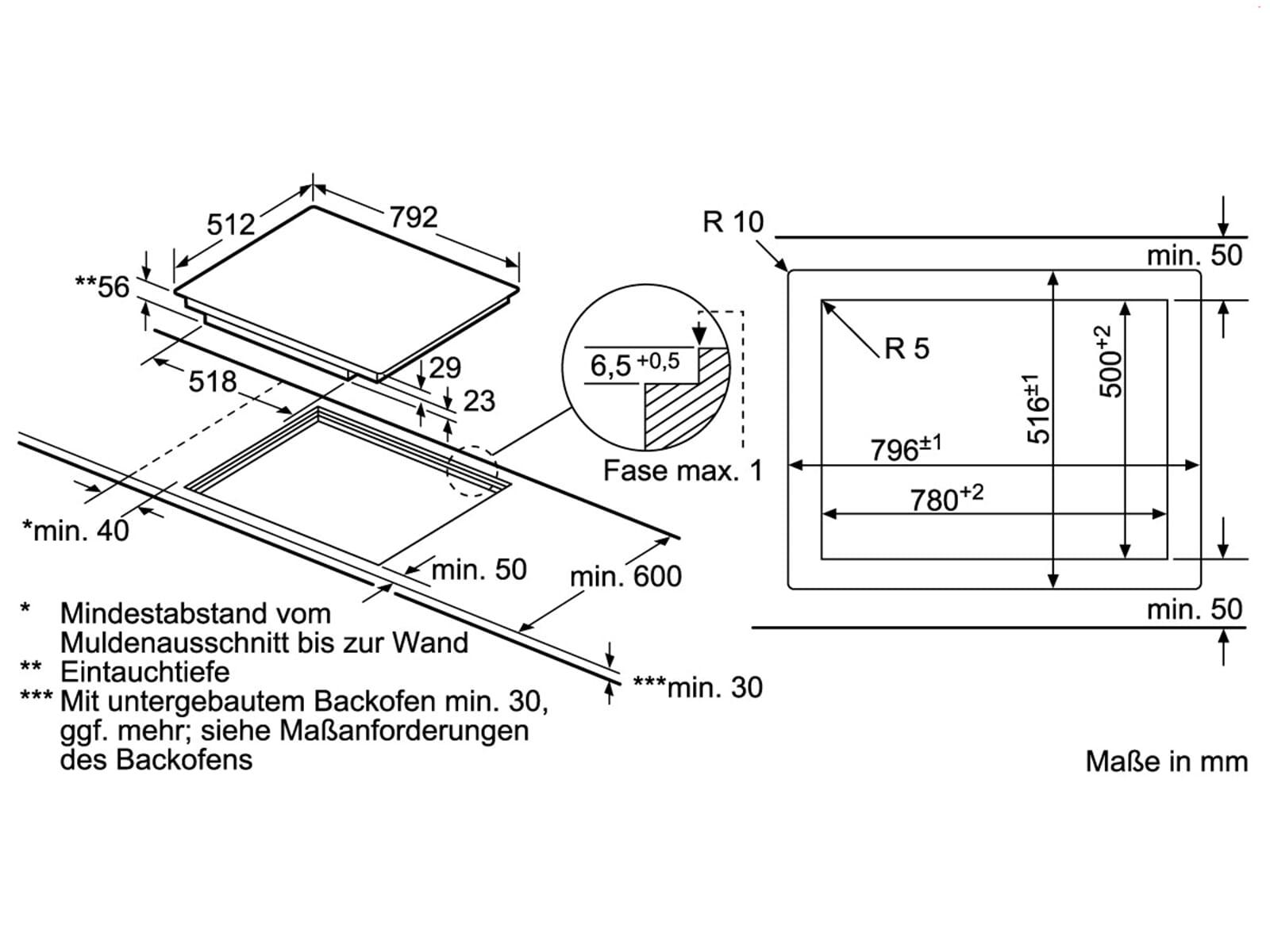 siemens ex801lyc1e induktion glaskeramik kochfeld autark. Black Bedroom Furniture Sets. Home Design Ideas