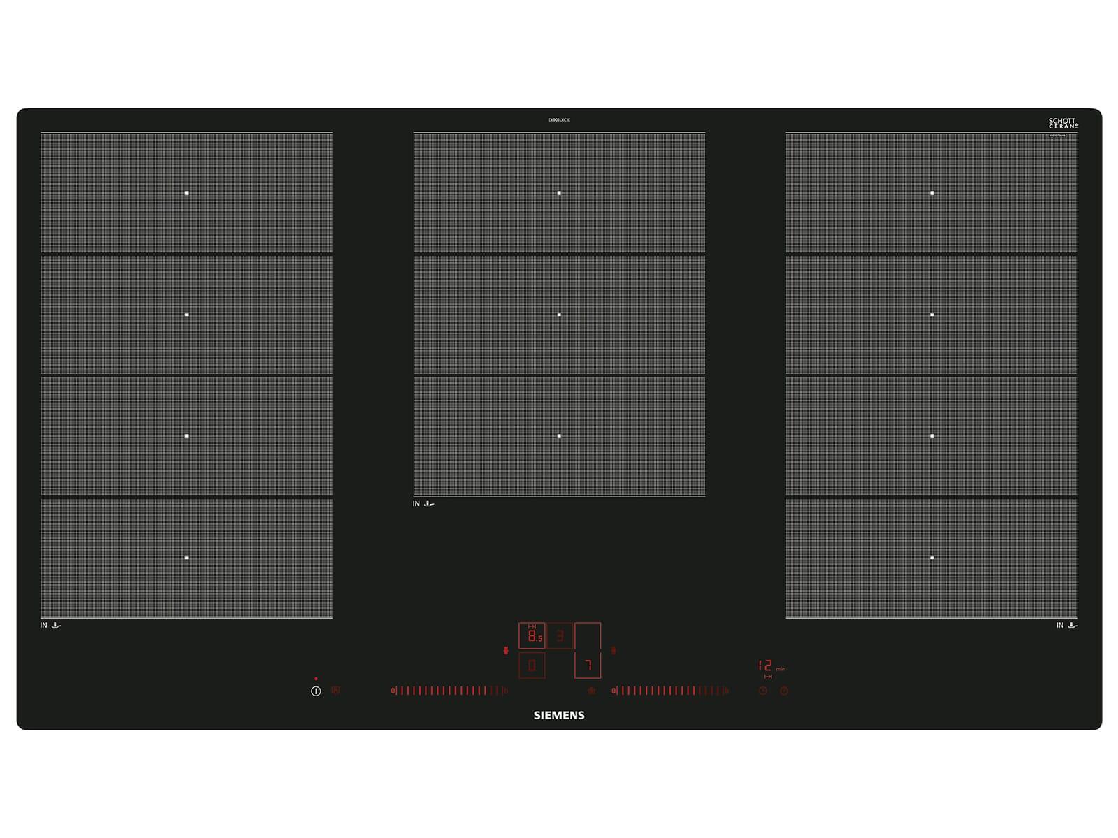 siemens ex901lxc1e induktion glaskeramik kochfeld autark. Black Bedroom Furniture Sets. Home Design Ideas