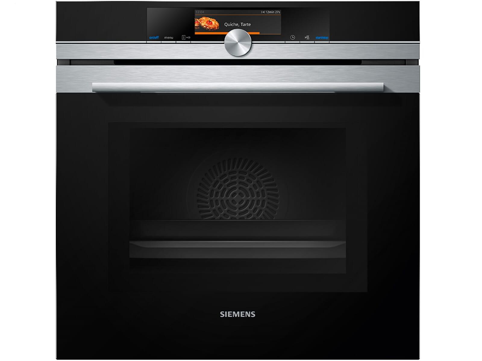 siemens hm638grs6 backofen mit mikrowelle edelstahl ebay. Black Bedroom Furniture Sets. Home Design Ideas