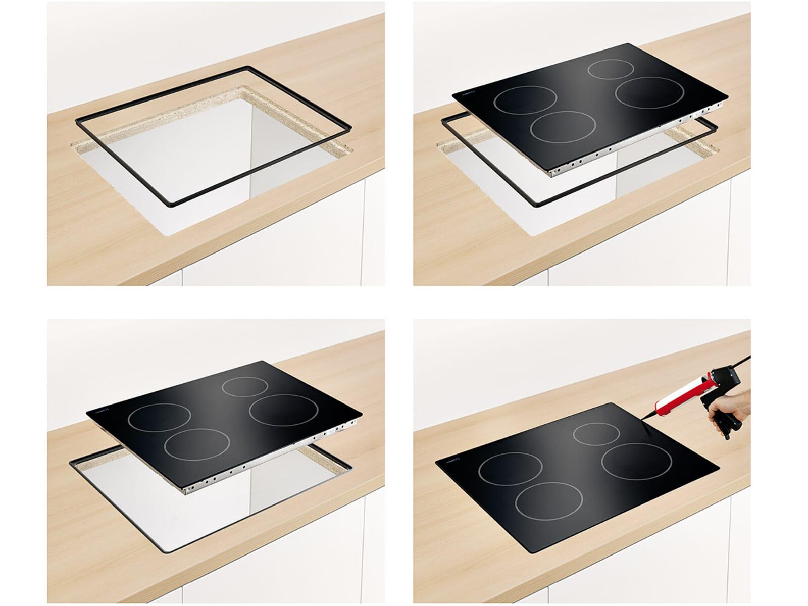 siemens hz395800 einbaurahmen 80 cm f r 218 90 eur. Black Bedroom Furniture Sets. Home Design Ideas
