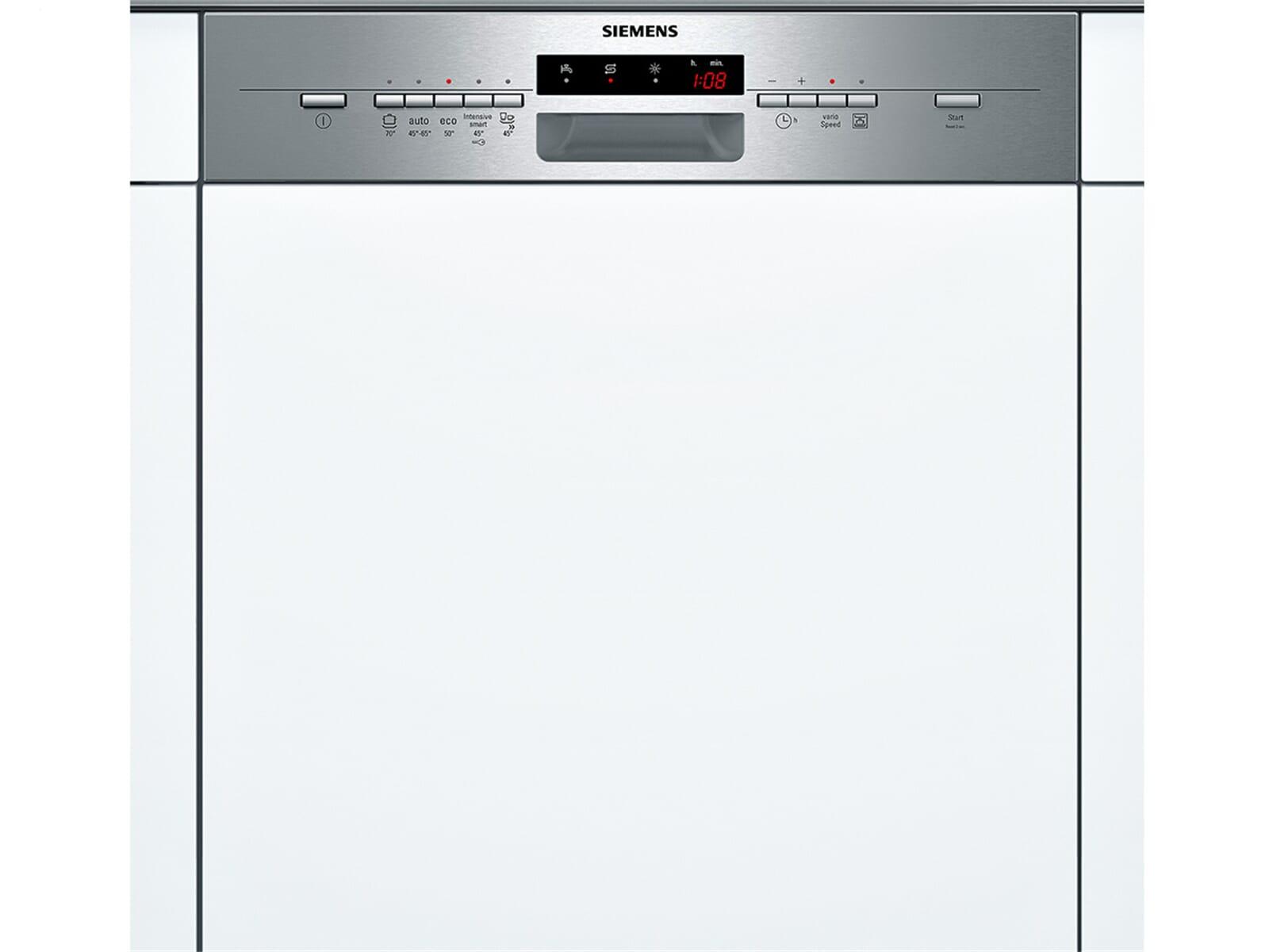 Geschirrspülmaschine Teilintegrierbar = siemens sn55l530eu teilintegrierbarer einbau