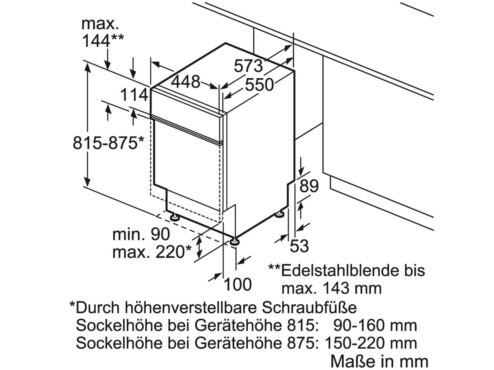 Инструкция по монтажу посудомоечной машины 3