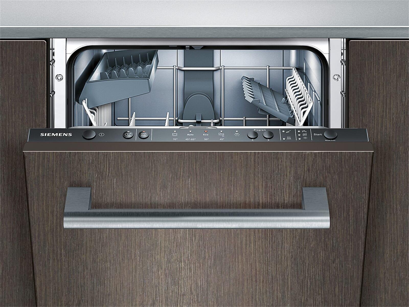 Siemens sr65e007eu vollintegrierbarer einbau for Integrierte spülmaschine