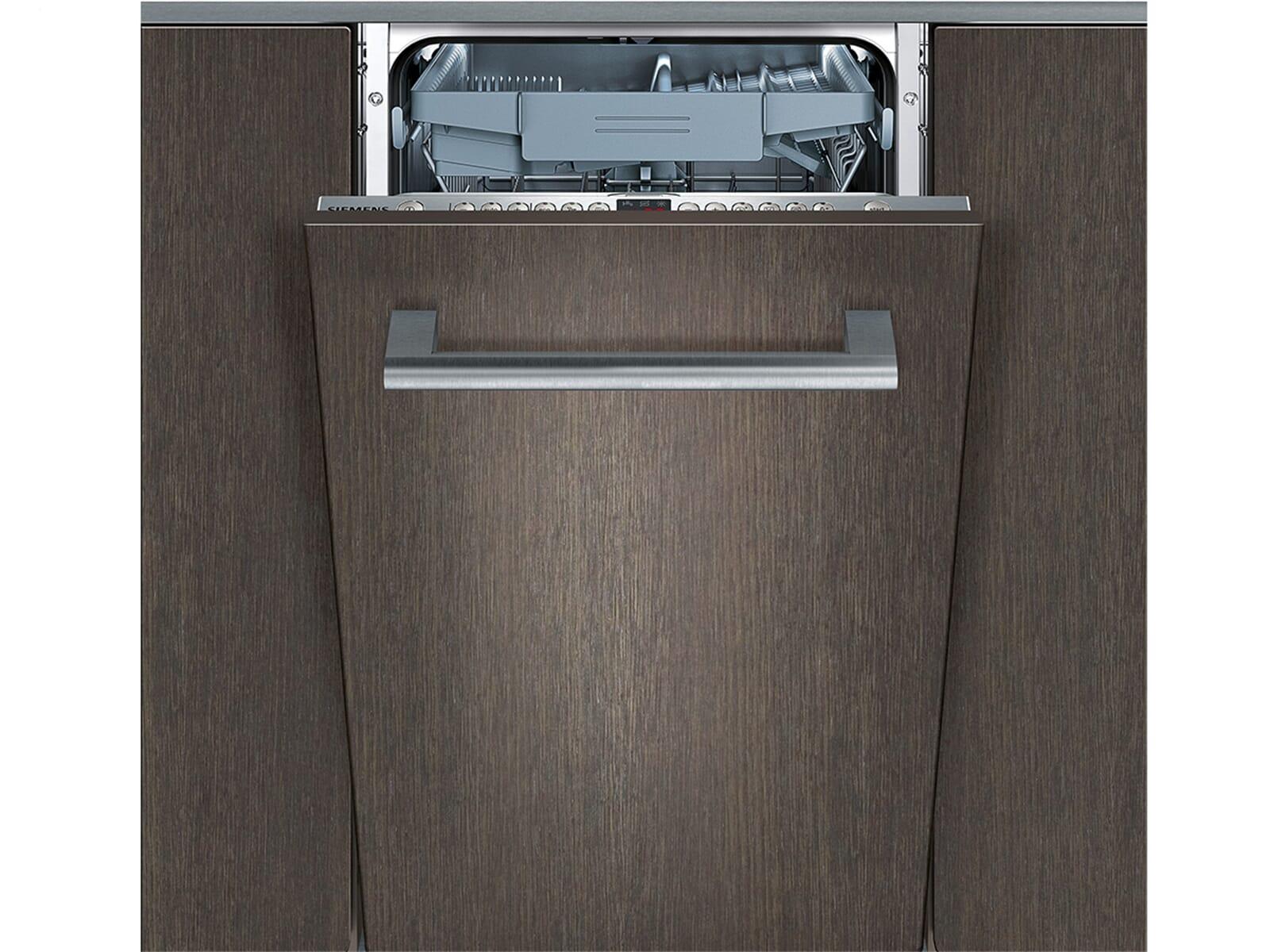 siemens sr76t095eu vollintegriert einbaugeschirrsp ler a 45cm besteckschublade ebay. Black Bedroom Furniture Sets. Home Design Ideas