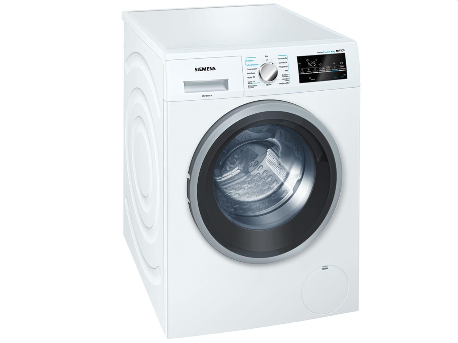 siemens wd15g442 stand waschtrockner wei standger t waschmaschine trockner ebay. Black Bedroom Furniture Sets. Home Design Ideas