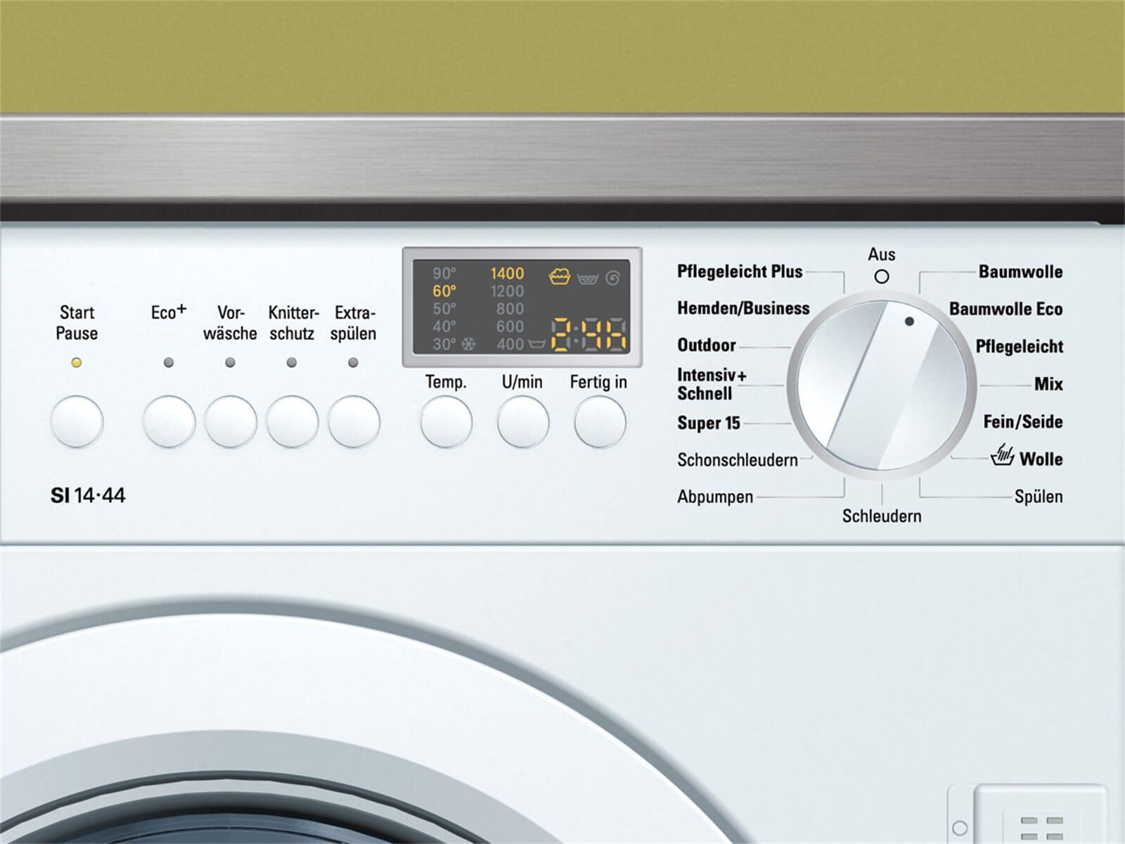 siemens wi 14 s 440 waschmaschine einbau variosoft 60cm ebay. Black Bedroom Furniture Sets. Home Design Ideas