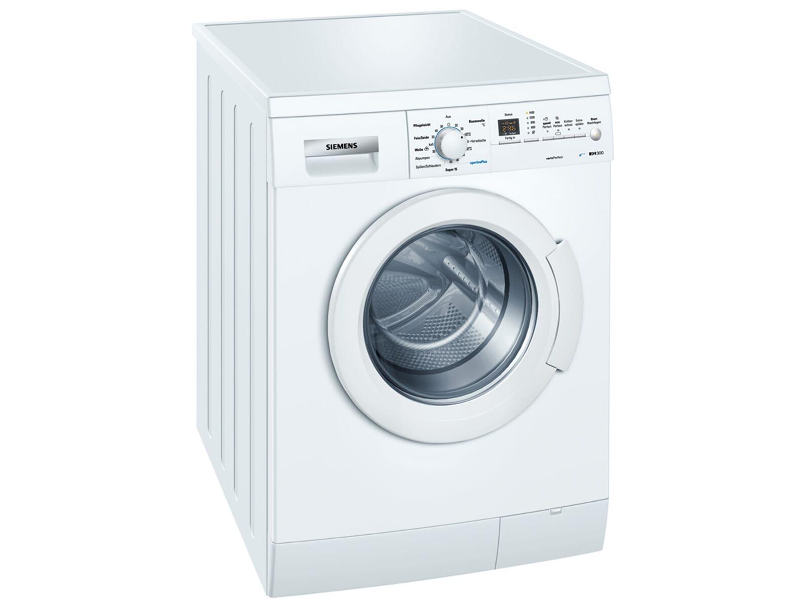siemens wm14e32a stand waschmaschine wei waschvollautomat. Black Bedroom Furniture Sets. Home Design Ideas