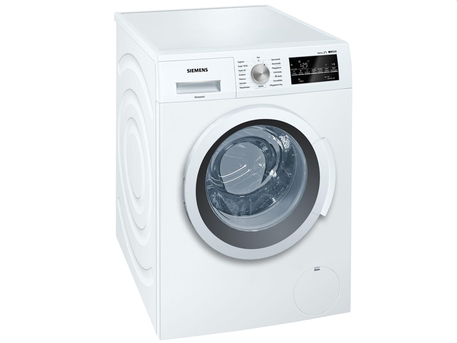 siemens wm14t410 stand waschmaschine wei waschvollautomat. Black Bedroom Furniture Sets. Home Design Ideas