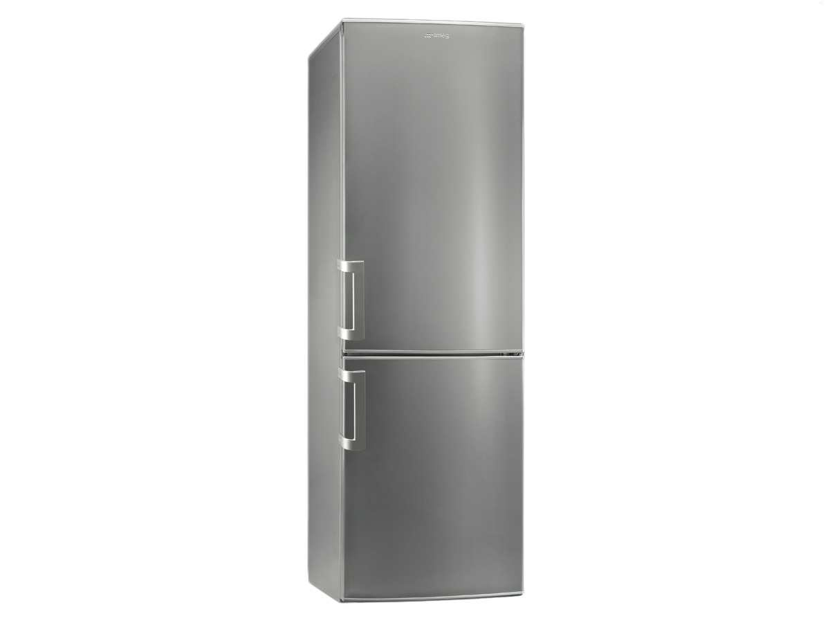 smeg cf33x2pnf stand k hlkombi tiefk hlschrank k hlschrank nofrost silber 185cm ebay. Black Bedroom Furniture Sets. Home Design Ideas