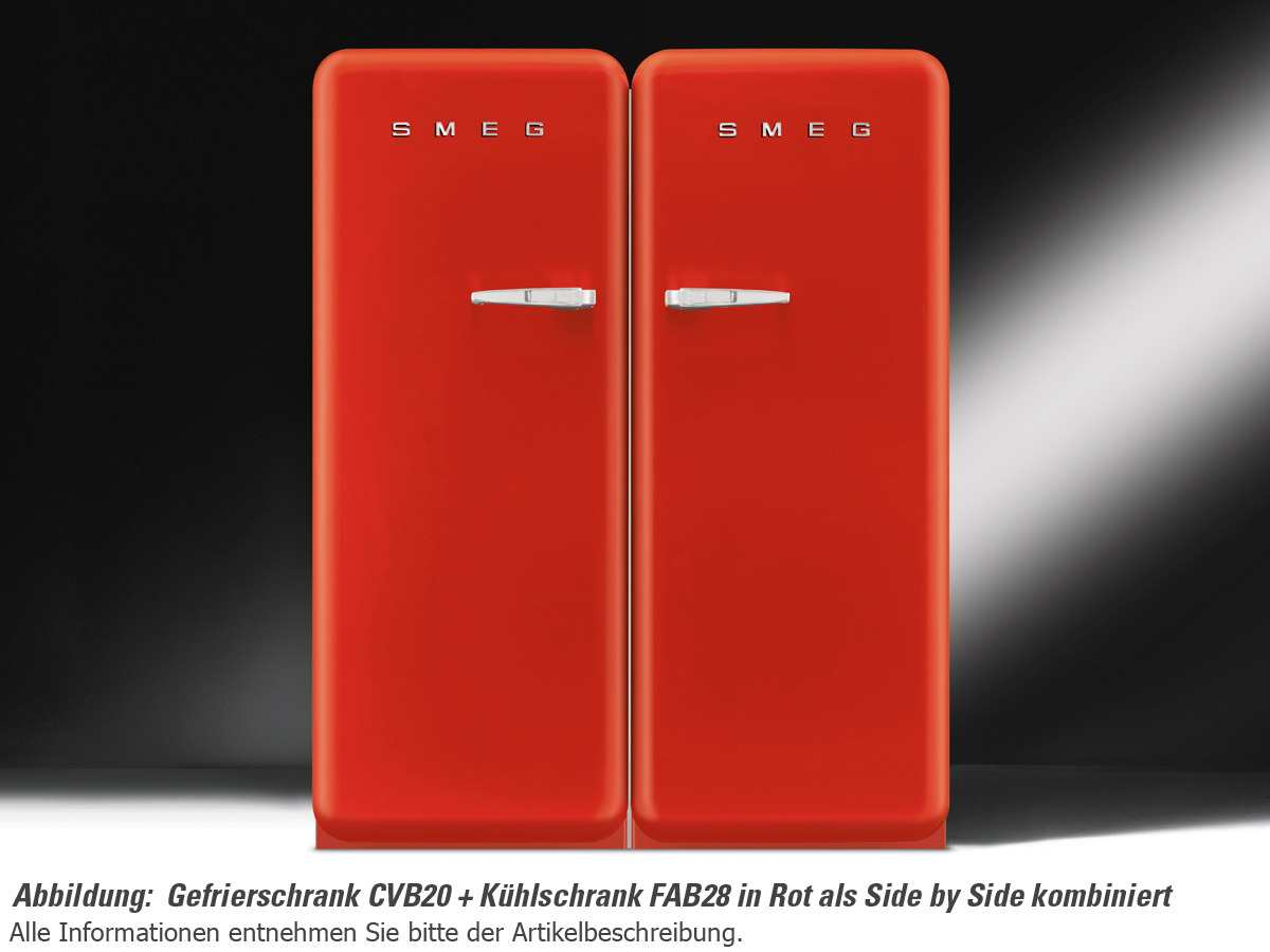smeg fab28lr1 stand k hlschrank rot f r 1099 00 eur shop. Black Bedroom Furniture Sets. Home Design Ideas