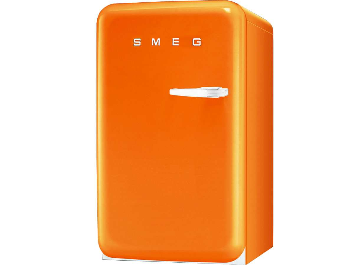 smeg fab10lo stand k hlschrank orange f r 759 00 eur. Black Bedroom Furniture Sets. Home Design Ideas