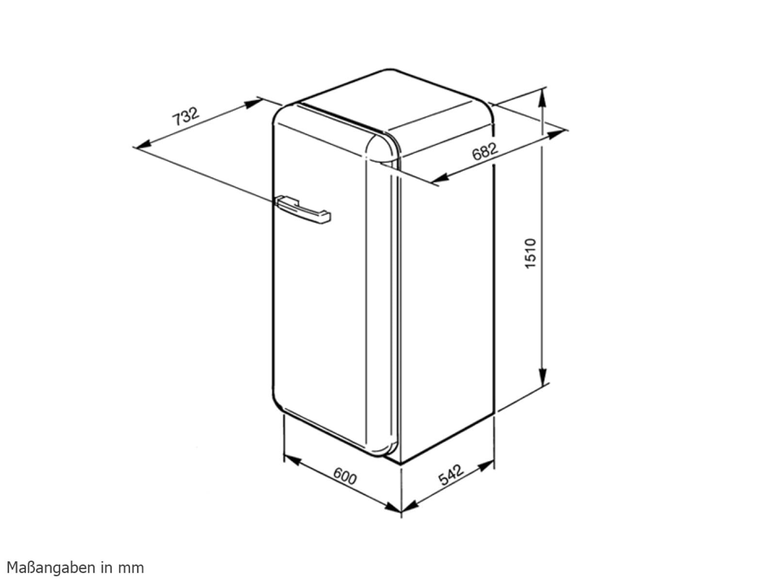 smeg fab28rr1 freistehend k hlger t k hlschrank rot. Black Bedroom Furniture Sets. Home Design Ideas