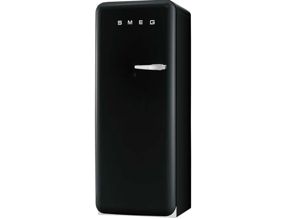 smeg fab28lne1 stand k hlger t schwarz gefrierfach. Black Bedroom Furniture Sets. Home Design Ideas