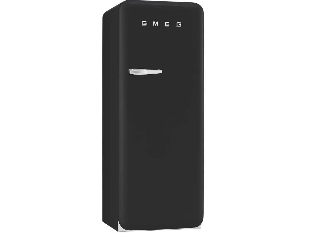 smeg fab28rbv3 k hlschrank black velvet schwarz retro. Black Bedroom Furniture Sets. Home Design Ideas