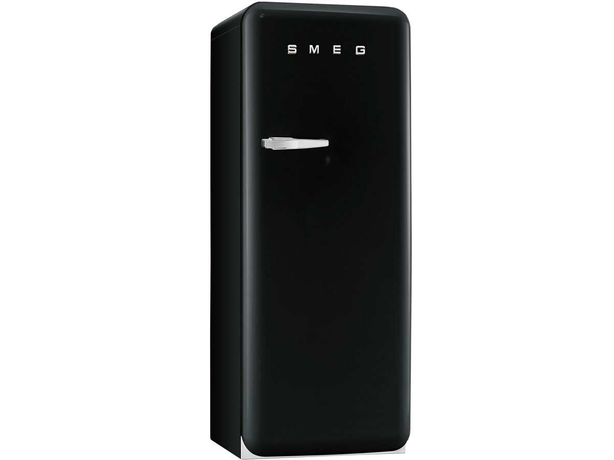 smeg standk hlschrank a retro fab28rne1 schwarz ebay. Black Bedroom Furniture Sets. Home Design Ideas